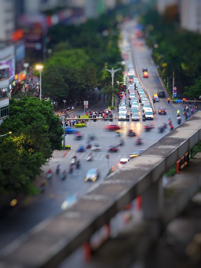street-blur-traffic-action-road 图片素材