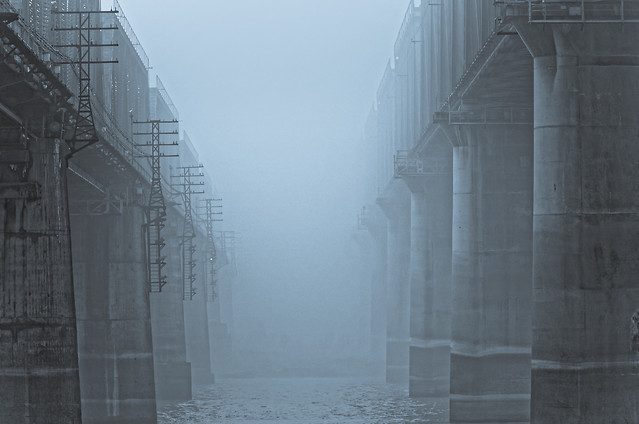 architecture-fog-no-person-building-winter 图片素材