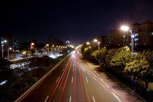 road-traffic-street-highway-blur 图片素材