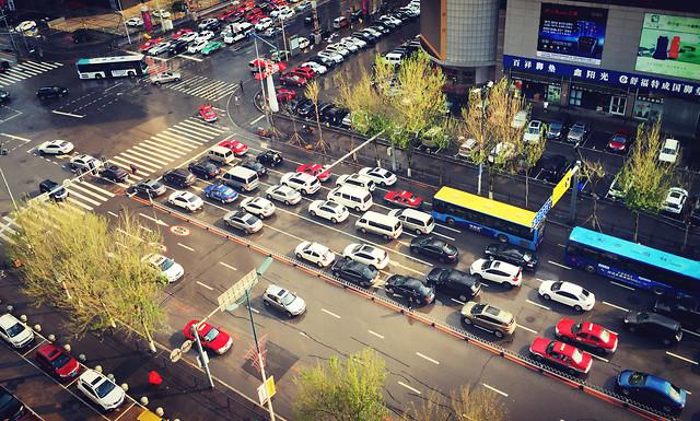 car-road-traffic-city-transportation-system 图片素材