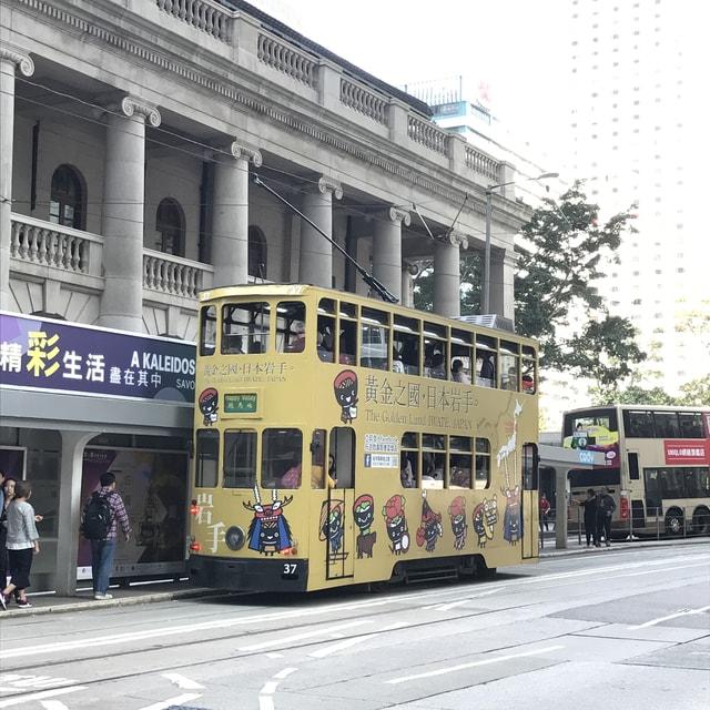 tram-transport-mode-of-transport-vehicle-landmark 图片素材