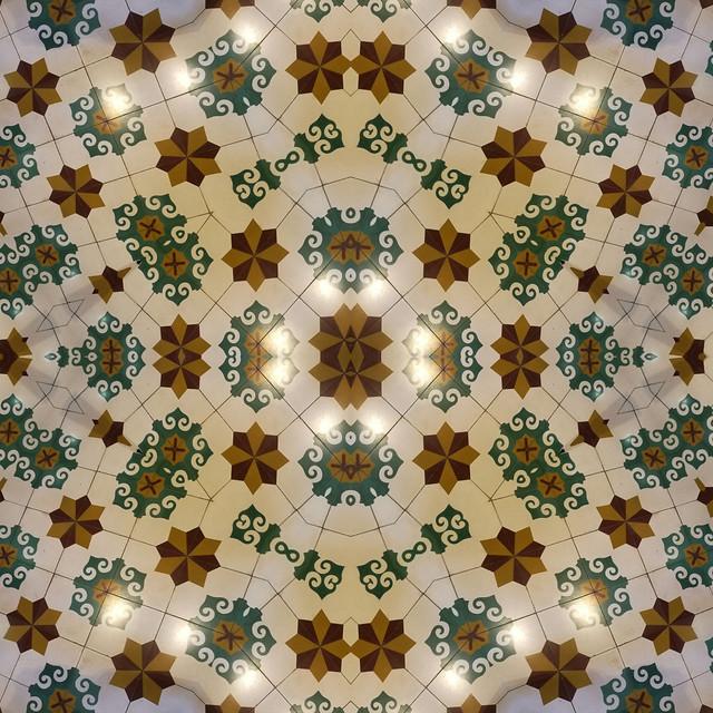 pattern-wallpaper-decoration-geometric-retro picture material