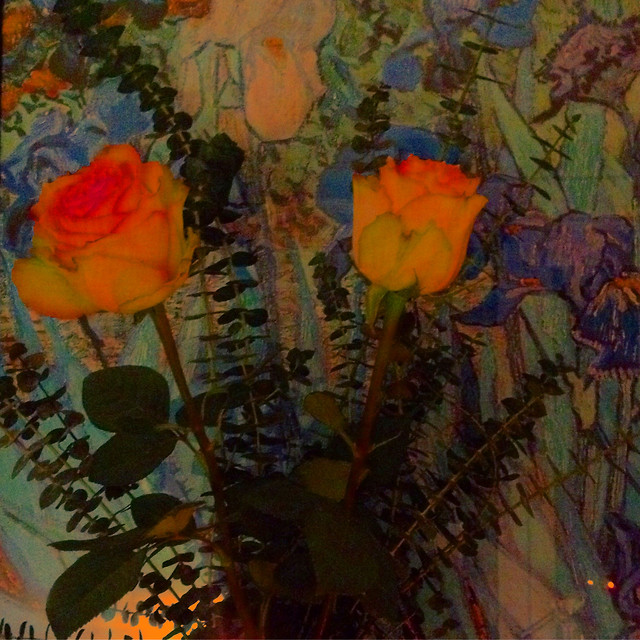 painting-flower-art-no-person-wear picture material
