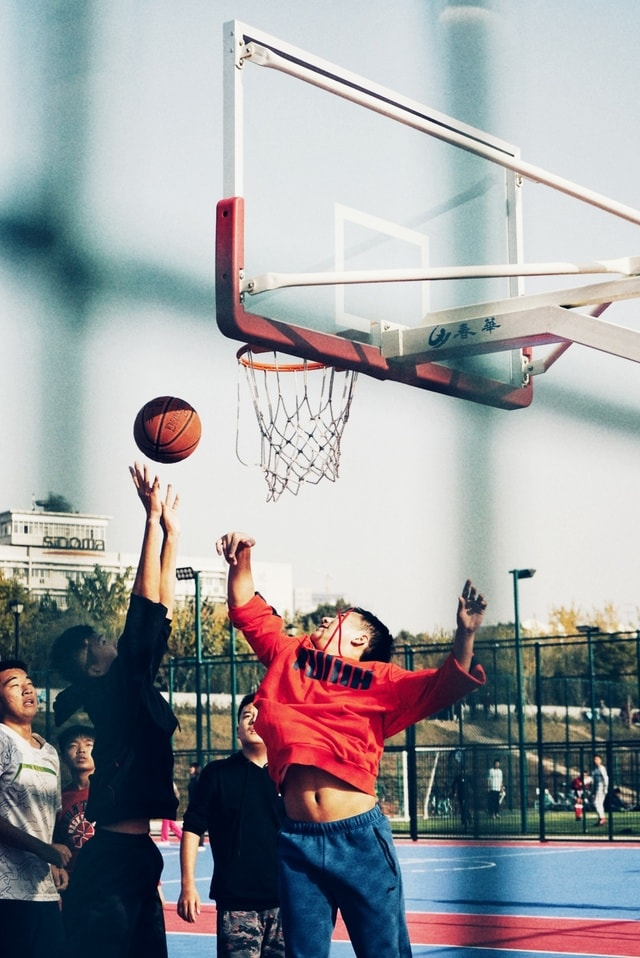 basketball-leisure-fun-ball-basket picture material