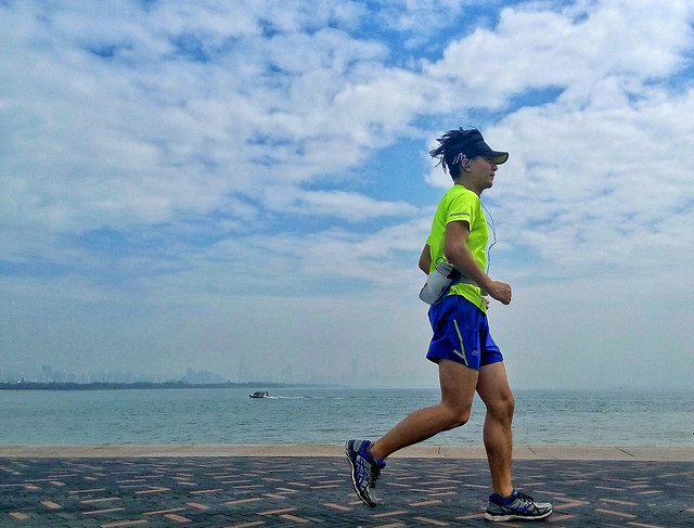 recreation-leisure-runner-fitness-sea picture material