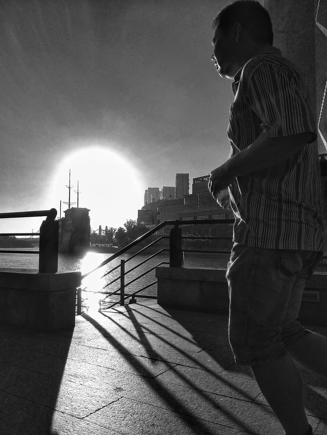 people-monochrome-one-adult-man picture material