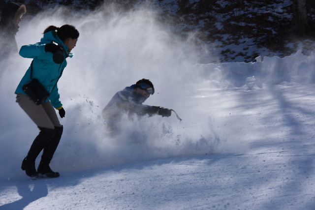 snow-action-winter-motion-competition 图片素材