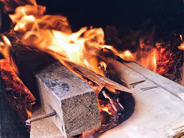 flame-fireplace-heat-firewood-coal 图片素材