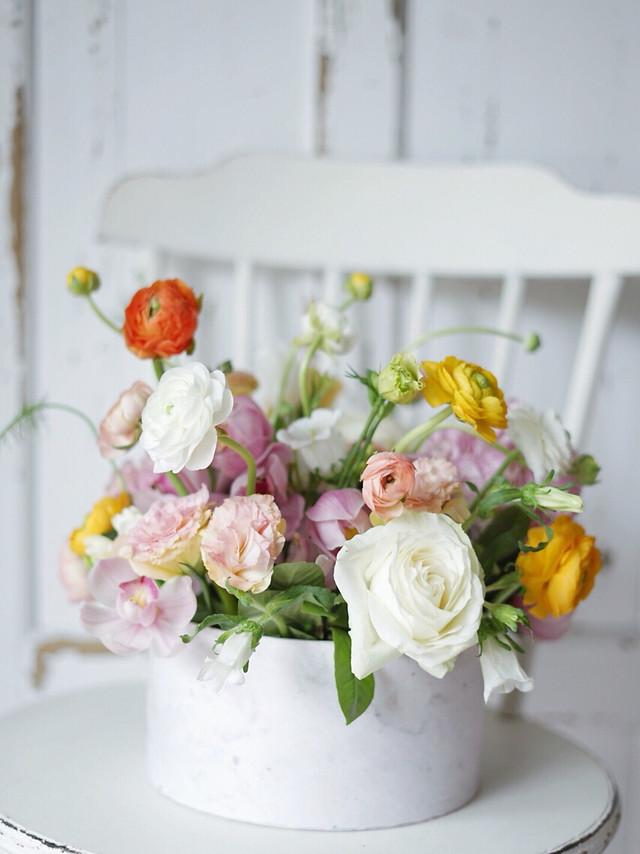 bouquet-wedding-flower-vase-decoration picture material