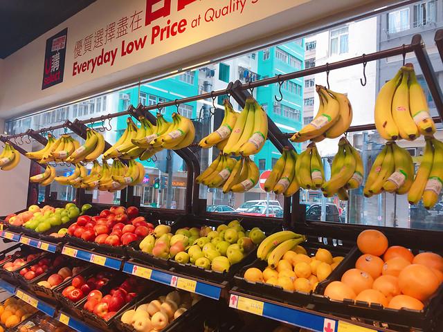 market-banana-natural-foods-produce-fruit 图片素材