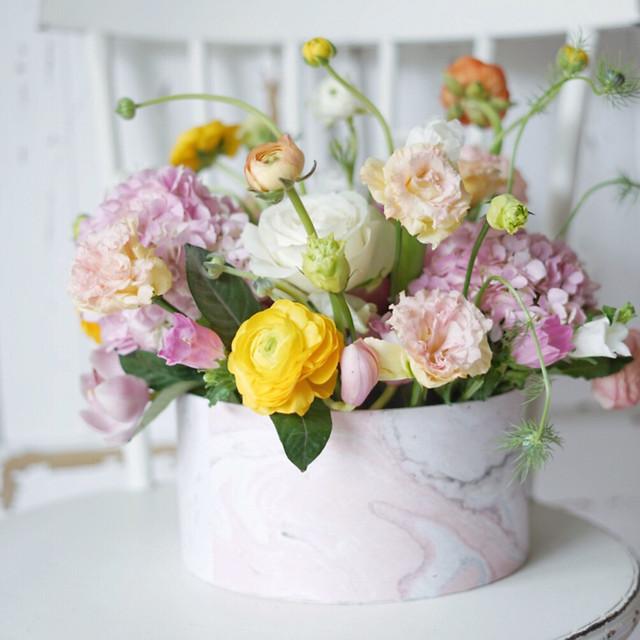 bouquet-flower-vase-wedding-decoration picture material
