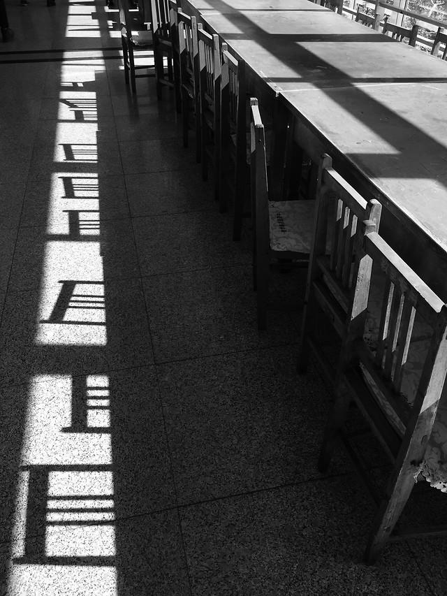 no-person-monochrome-street-white-black picture material