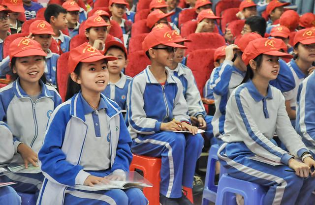 people-blue-uniform-sports-fan-child picture material