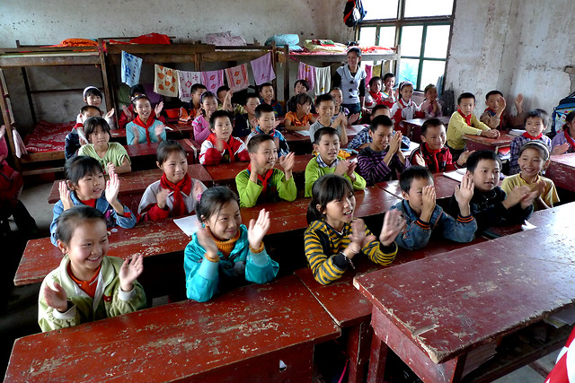 child-people-education-school-group picture material