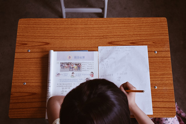education-people-furniture-writing-paper picture material