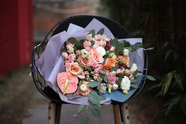 wedding-flower-rose-bouquet-flower-bouquet picture material