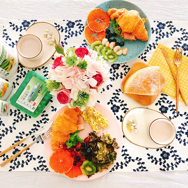 food-plate-meal-table-healthy 图片素材