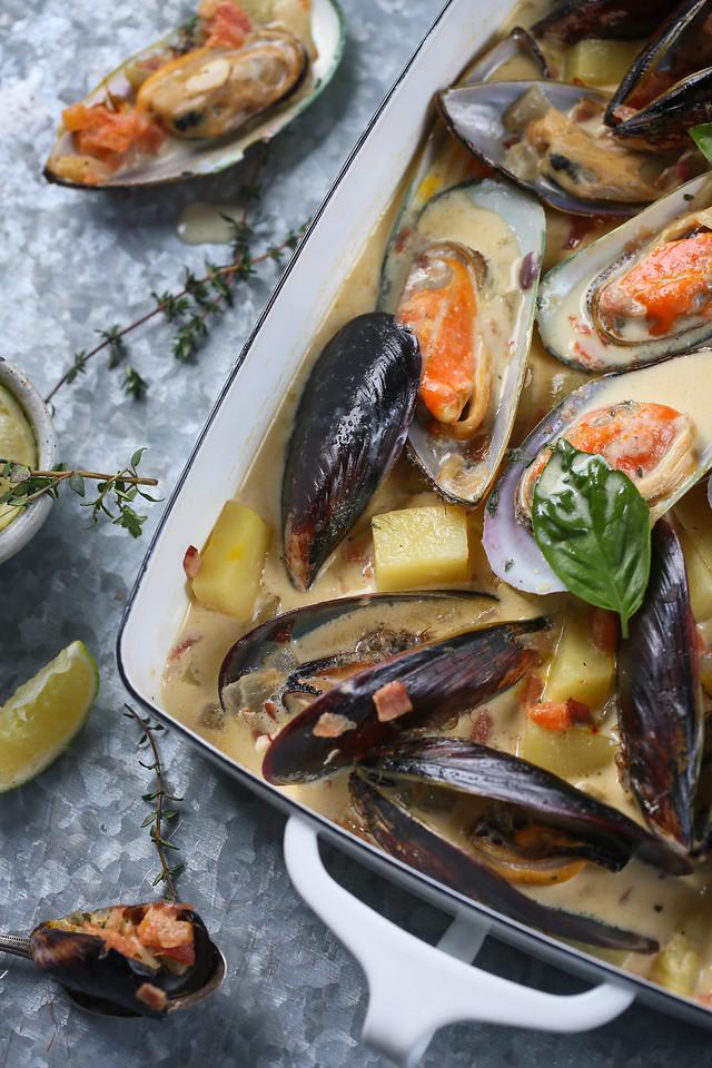 seafood-shellfish-fish-food-mussel 图片素材