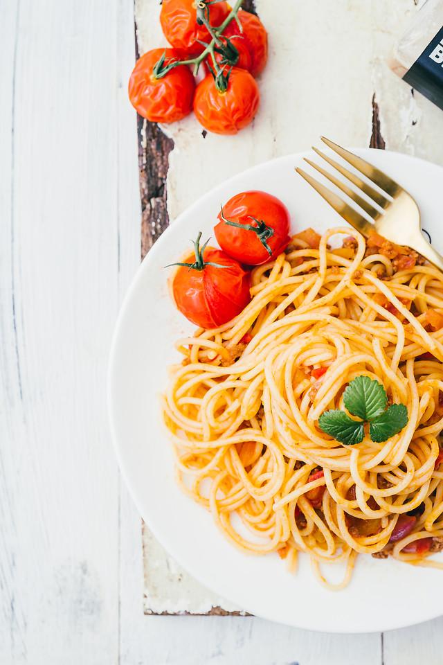 food-pasta-spaghetti-healthy-cooking 图片素材