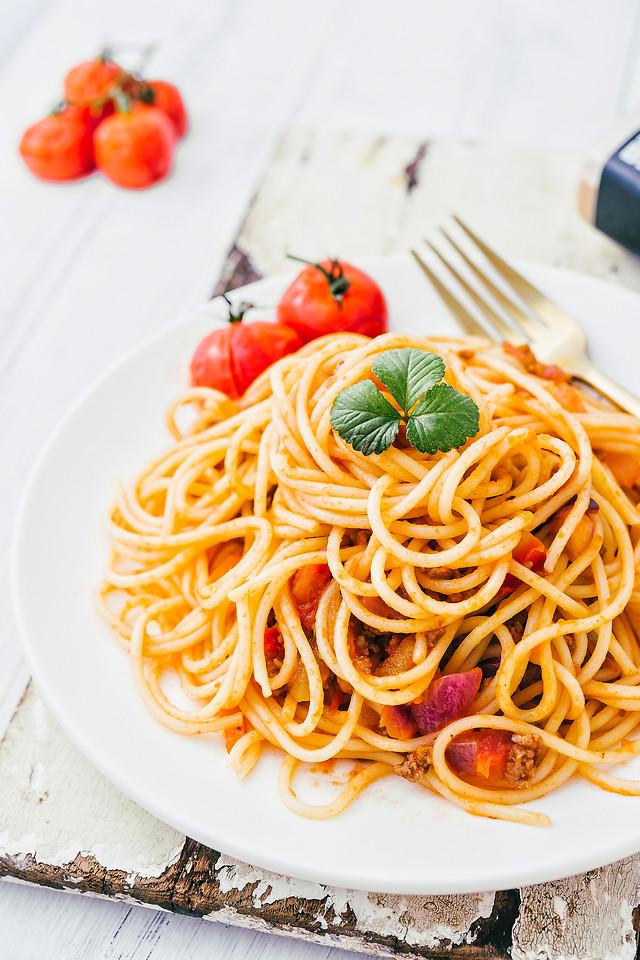 food-pasta-spaghetti-no-person-dinner 图片素材