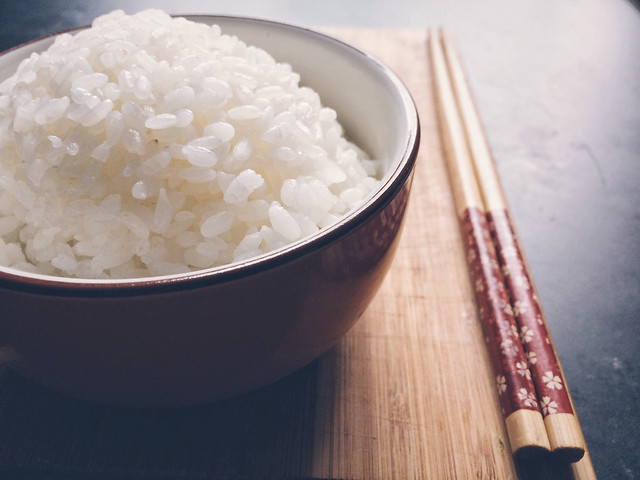 rice-food-no-person-bowl-bamboo picture material