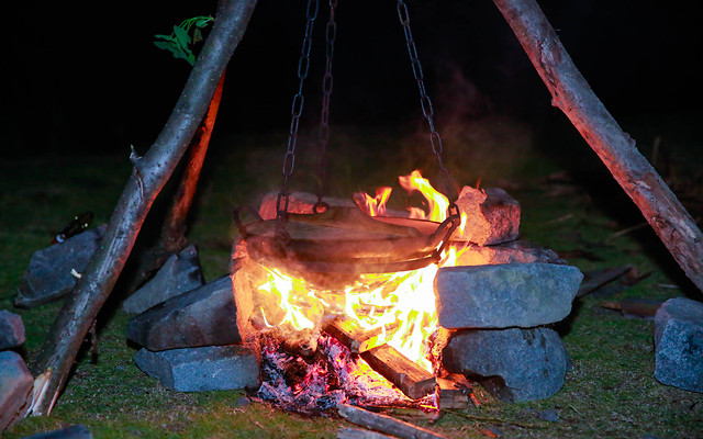 flame-smoke-campfire-no-person-charcoal picture material