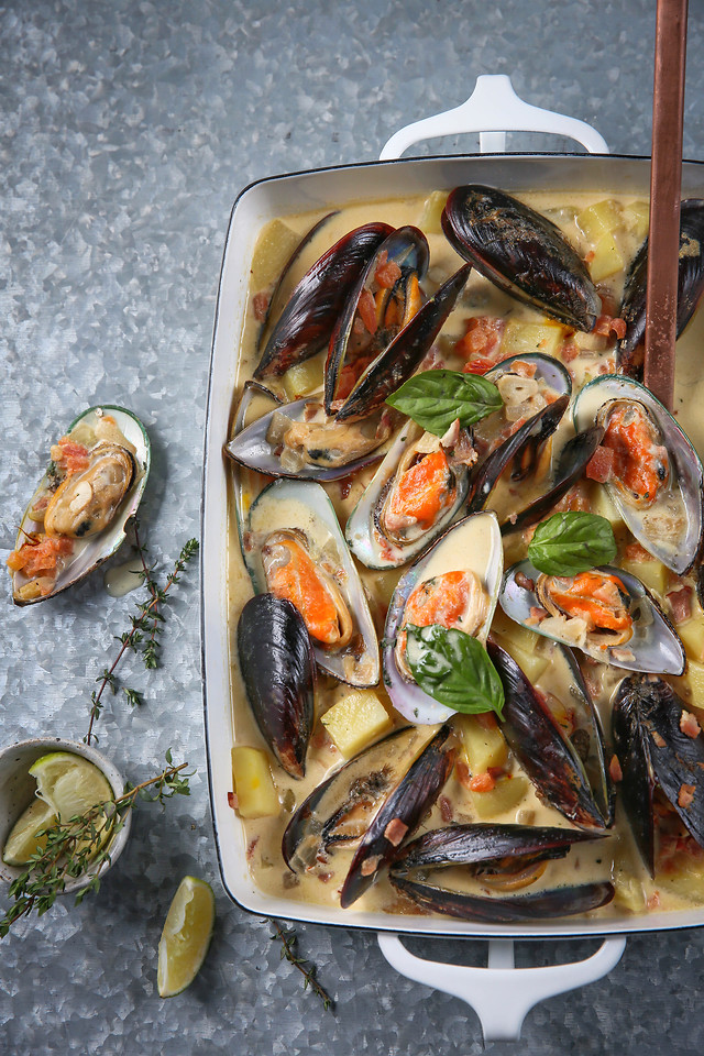 seafood-shellfish-fish-mussel-food 图片素材