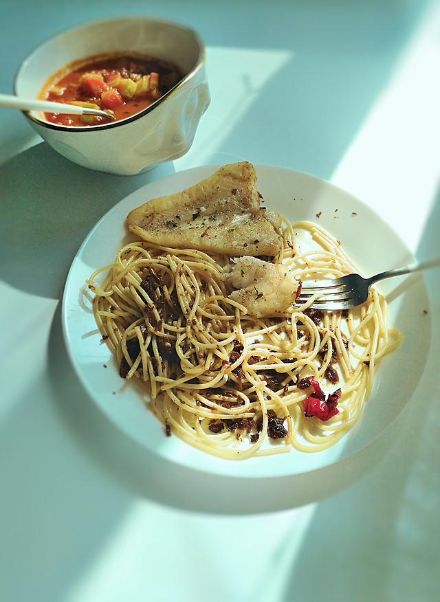 food-dinner-no-person-pasta-lunch 图片素材