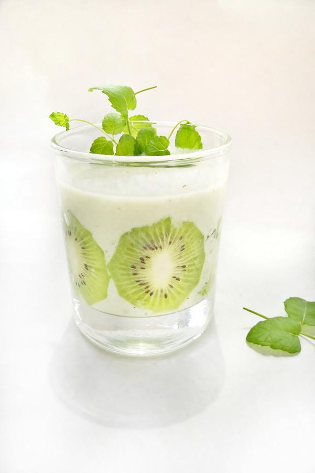 no-person-mint-leaf-health-glass 图片素材