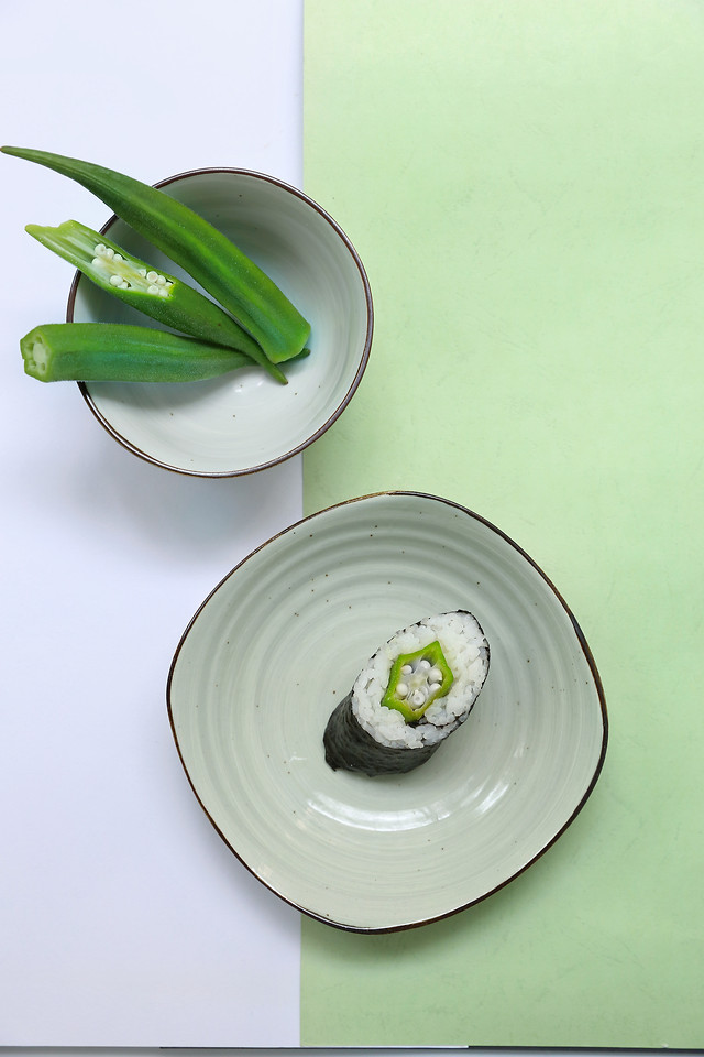 food-healthy-leaf-no-person-plate 图片素材
