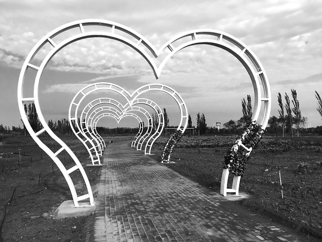 arch-black-white-no-person-summer-monochrome-photography 图片素材