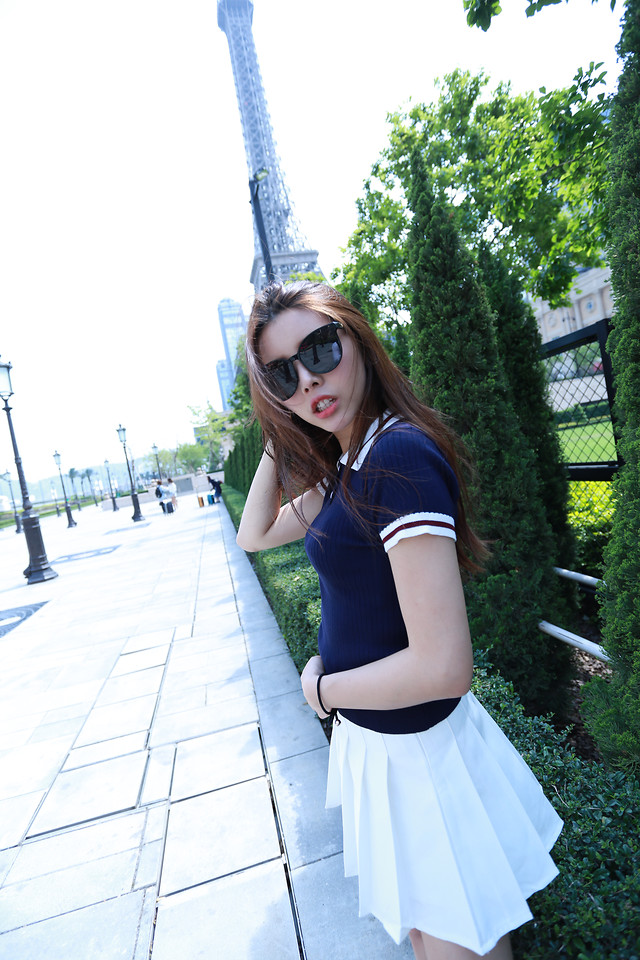 woman-clothing-girl-blue-summer picture material