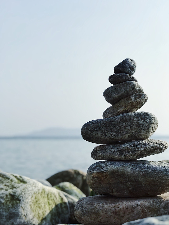 zen-balance-stability-rock-meditation picture material