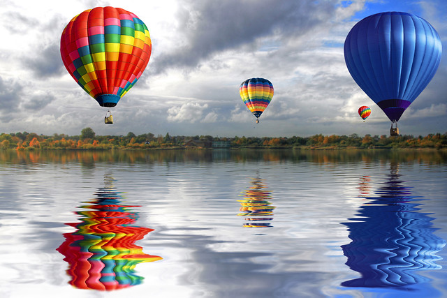 balloon-hot-air-balloon-floating-air-helium picture material