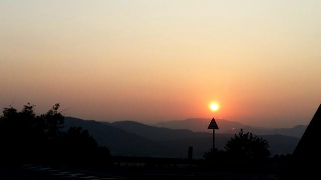 sunset-dawn-evening-backlit-sun 图片素材
