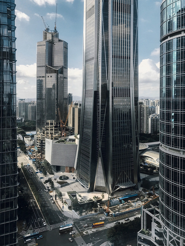 city-skyscraper-architecture-building-office picture material