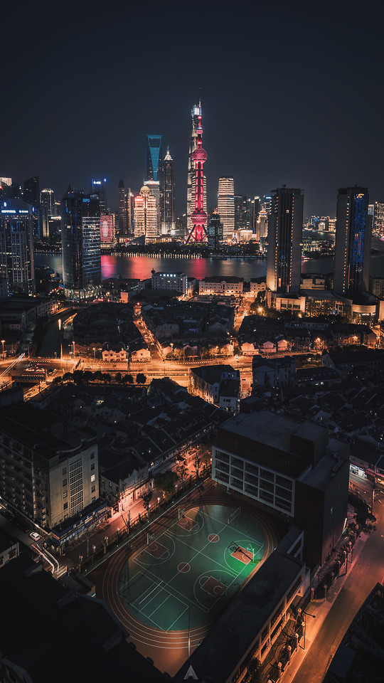 city-skyscraper-cityscape-metropolitan-area-building 图片素材
