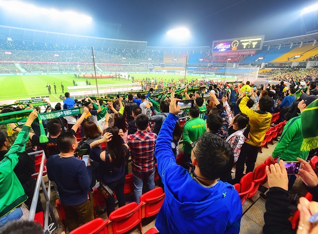 sport-venue-soccer-competition-sports-fan-people picture material