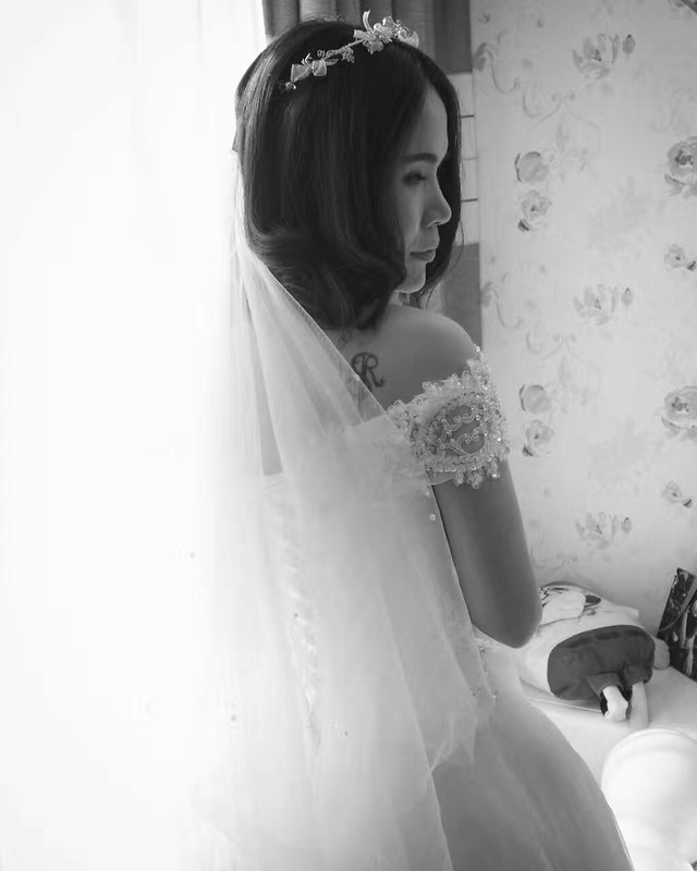 wedding-bride-woman-veil-people picture material