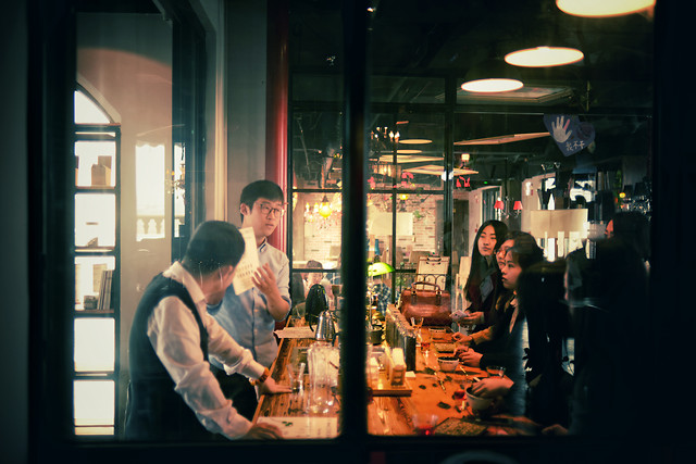 bar-people-restaurant-stock-man picture material