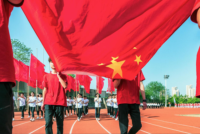 competition-red-people-track-field-marathon picture material