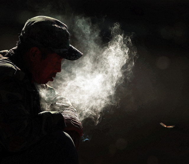 smoke-people-music-one-festival picture material