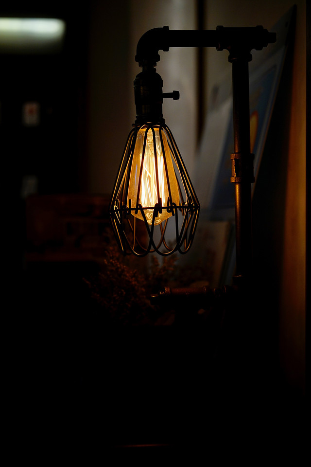 no-person-light-lamp-dark-light-fixture picture material
