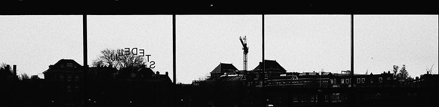 silhouette-no-person-sky-industry-black-and-white picture material