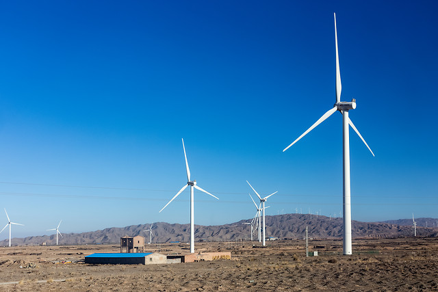 wind-windmill-electricity-turbine-alternative picture material