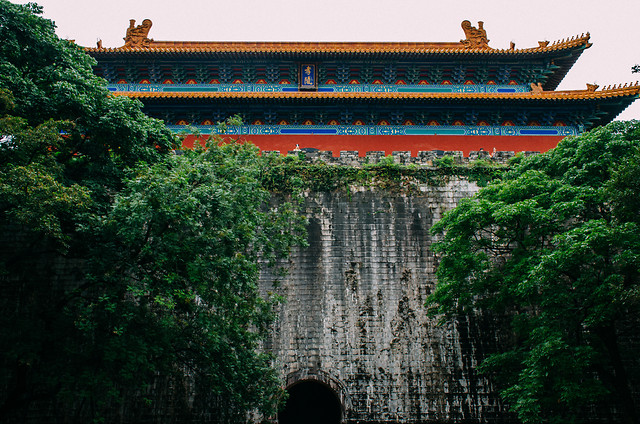 chinese-architecture-architecture-travel-castle-building picture material