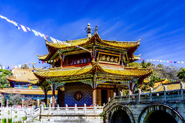 temple-chinese-architecture-travel-architecture-culture picture material