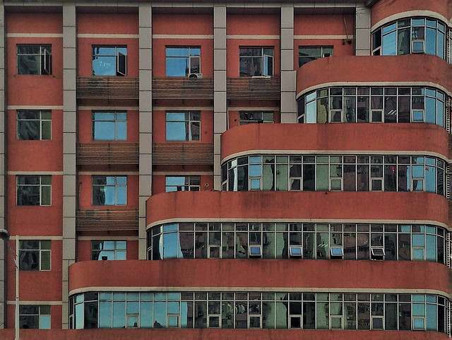 architecture-building-window-facade-apartment picture material