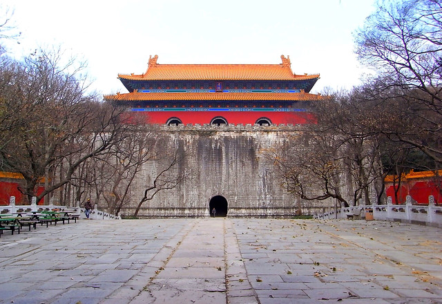 winter-snow-chinese-architecture-temple-architecture picture material