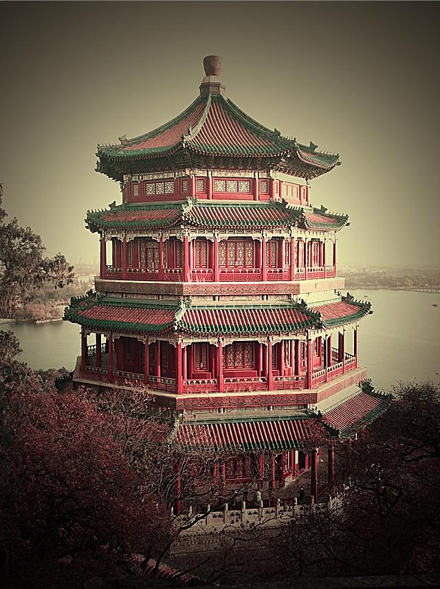 chinese-architecture-architecture-no-person-temple-landmark picture material